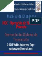 Capítulo 3 - Operación Del Sistema de Transmisión 2013