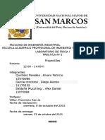 Informe 5 Del Laboratorio de Fisica 1