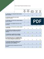 impact proposal volunteer survey