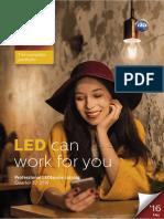 LEDlamps Professional Brochure Q2 2016
