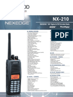 Kenwood Nx 210 Brochure