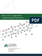 How to Set Competitive Compensation Structures