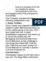 Arvind Products is a Company From the Lalbhai Group