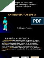 Principios de Asepsia y Antisepnbchgchgsia DAYA