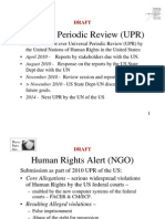 10-05-16 DRAFT Power Point Presentation- Human Rights Alert Universal Periodic Review report and proposal for UN resolution-s