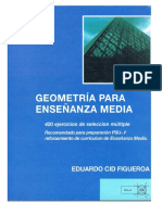 Geometria Para Ensenanza Media