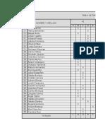 Tabla tabulación, gráficas y tablas de distribución.