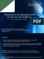 Tratamento Da Hiperglicemia No Serviço de Urgência