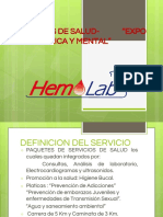 Expo Salud Hemolab