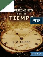 Un Experimento Con El Tiempo - John William Dunne