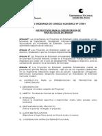 Instructivo Presentacion Proyectos Extension