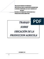 Mercadeo de Produccion Agricola