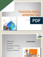 Toxicologia Ambiental x