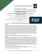 Revision de Variables de Diseño Celda de Electroc