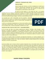 Acuerdos y Tratados Del Peru