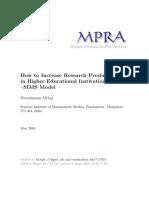 MPRA Paper 71750