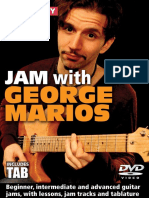 Jam With George Marios Tab Book