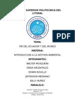 Ecuador PIB