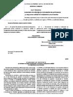 Standarde de Referinta Si Indicatori de Perfomanta Pentru Evaluarea Si Asigurarea Calitatii in Invatamantul Preuniversitar