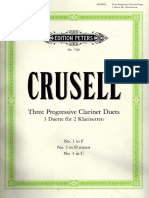 Complete Crusell Duettos Clarinet