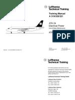 A320_ATA 24 Electrical Power Line & Base Maintenance