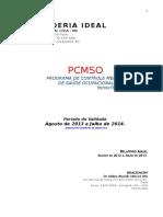 Lavanderia Ideal Pcmso 2013