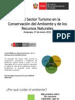 Rol Del Sector Turismo en La Conservación Del Ambiente y de Los Recursos Naturales