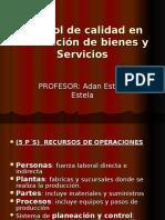 Calidad Oper Bien- Serv