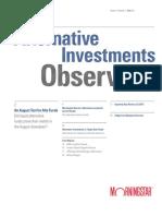 Alternative Investment Observer