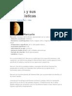 Planetas y Sus Características