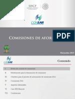 Sala Prensa PDF Presentaciones C.P. Comisiones AFORE 2016