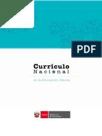 Curriculo Nacional EBR 2016
