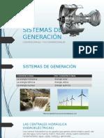 Sistemas de Generación Exposición Dibujo Eléctrico