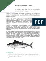 Determinación de Humedad, Informe N1