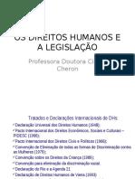 Os Direitos Humanos e a Legislação