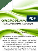 Ap5 - Corrosão de Armaduras