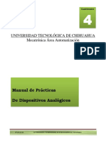 Manual de Practicas de Dispositivos Analogicos Ver1.0 Mayo 20