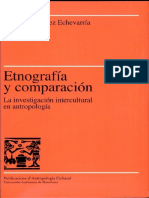 Etnografia y Comparacion-Aurora Gonzalez Echevarria