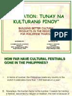 Tunay Na Kulturang Pinoy