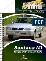 Vol.06 - Santana MI VW 2000 até 2006