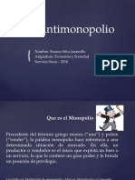 Ley Antimonopolio
