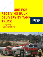 Tank Truck Receiving_ kinglong Cooperative