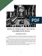 De Defectibus Decree of Trent