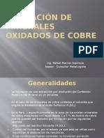 Lixiviación de Minerales Oxidados de Cobre