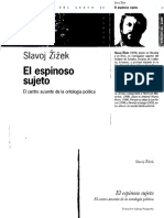 Zizek - El Espinoso Sujeto El Centro Ausente de La Ontologia Politica