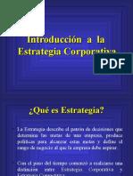 1.Introduccion a La Estrategia Corporativa 1