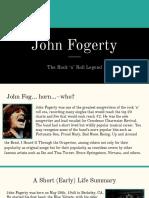 John Fogerty SIA Presentation