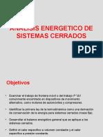 Análisis Energetico de Sistemas Cerrados