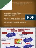 Tema 11 Medicina Psicologica