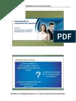 Diferencia entre ponencia y conferencia